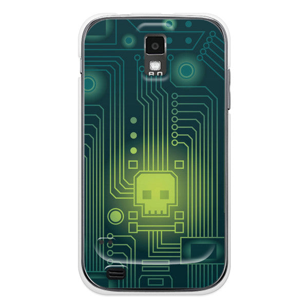 T-Mobile Samsung Galaxy S2 Skull Case - Attack Viral Case