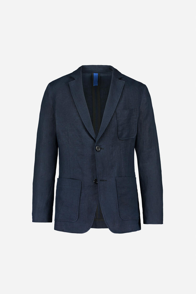 FRENN blue linen jacket blazer