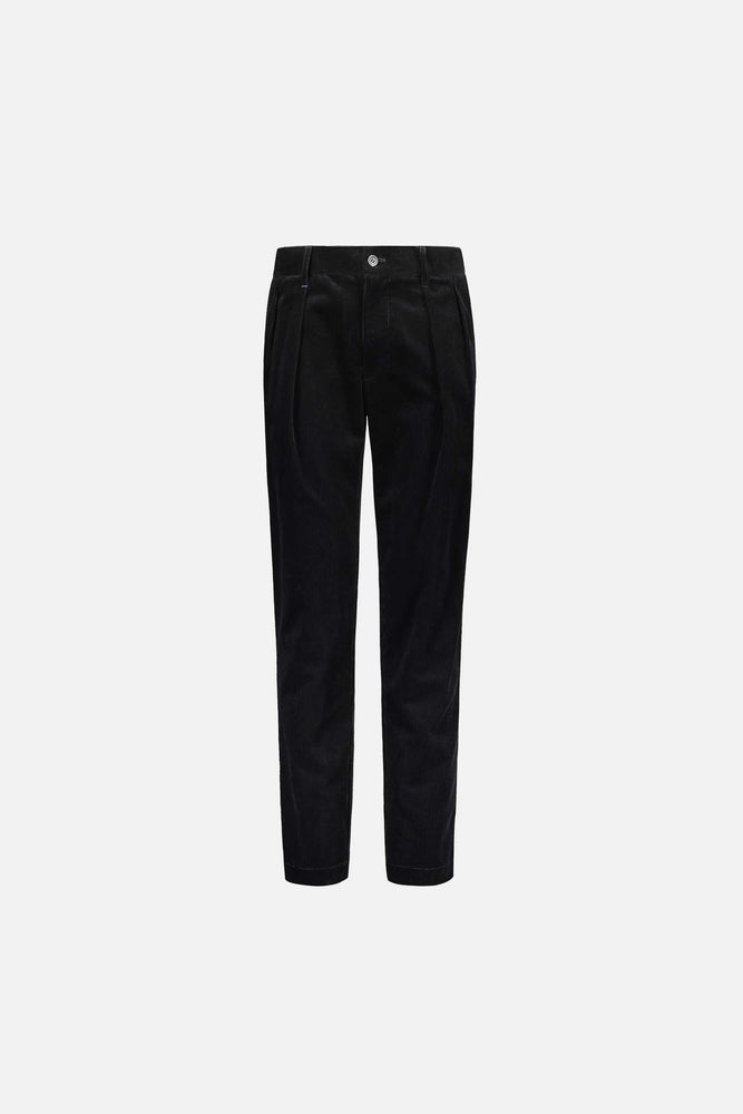 Load image into Gallery viewer, FRENN Simo organic cotton corduroy trousers black