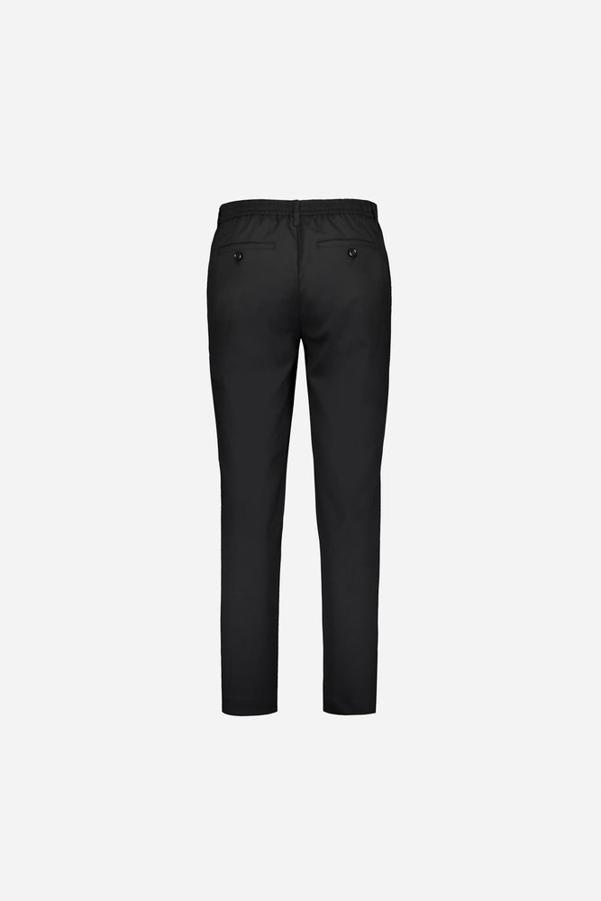 FRENN comfortable Seppo wool blend trousers black