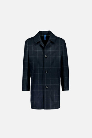 Load image into Gallery viewer, FRENN Petri recycled wool coat blue