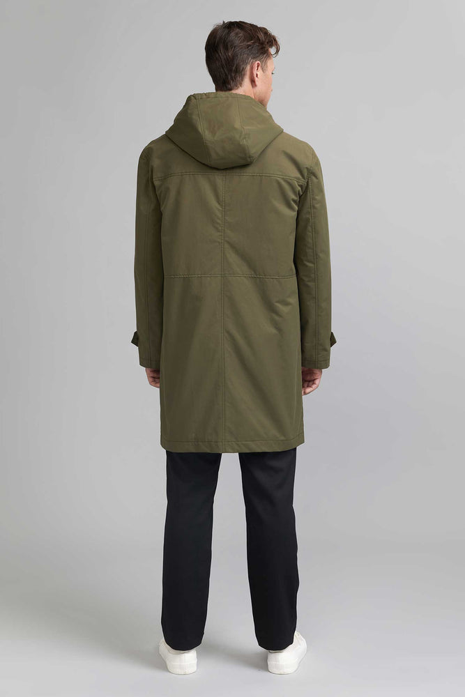 FRENN green water and wind repellent parka coat