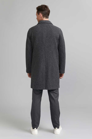 FRENN Pyry 100% wool coat grey