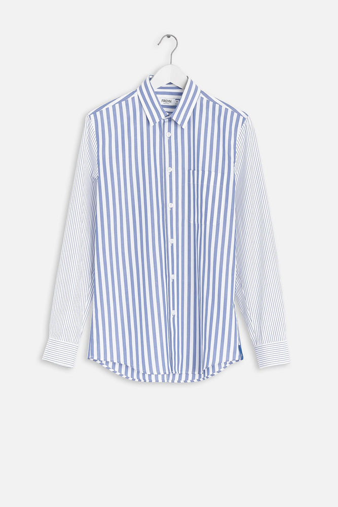 Aapo cotton shirt blue