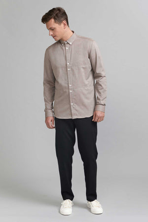 Load image into Gallery viewer, FRENN Alvar cotton shirt brown