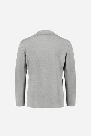Load image into Gallery viewer, FRENN Elias extra fine merino wool cardigan jacket grey