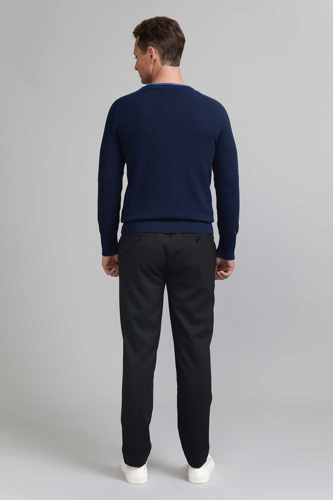 Load image into Gallery viewer, FRENN Esa extra fine merino wool pullover blue