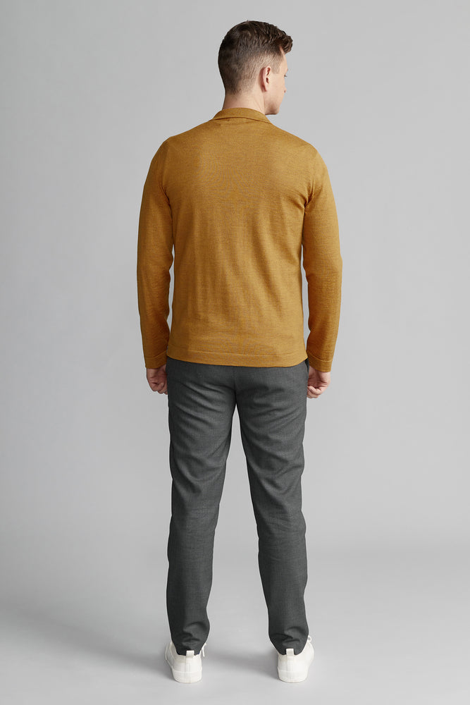 Load image into Gallery viewer, Eero Extra Fine Merino Wool  Knit Shirt