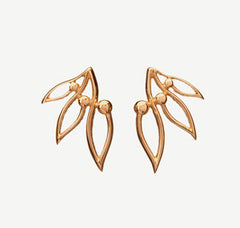 Pihla earrings, gold