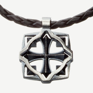 Soturi pendant, leather