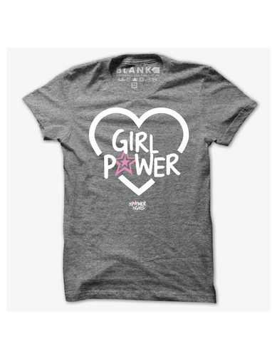 Girl Power Tshirt - GREY