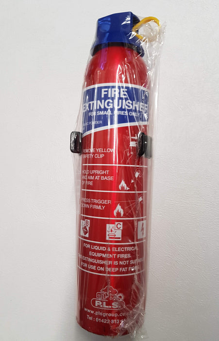 Fire Extinguisher 950G BC Dry Powder BSi Approved