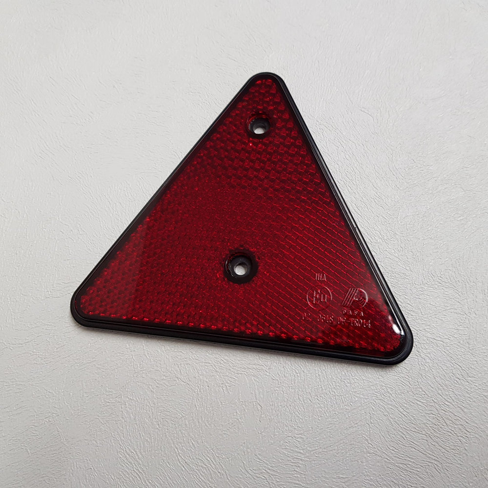 Red Warning Triangle (2 pack)