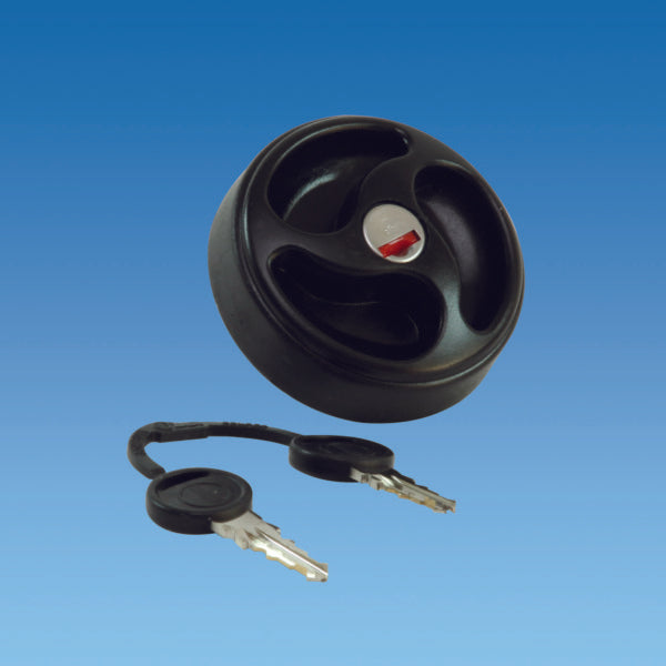 Vented Water Tank Filler Cap With Lock & Keys