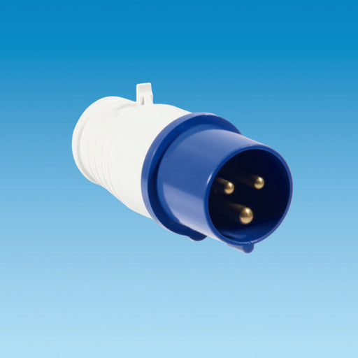 Powerpart 240 Volt Mains Site Plug Male