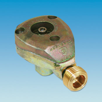 RECA Butane 109 Clip On Male Outlet Adaptor 21 mm