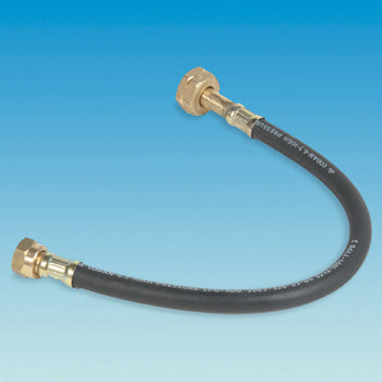 Butane Gas Hose Assembly Pigtail 450mm