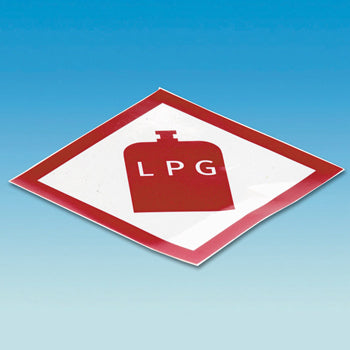 Self Adhesive LPG Sticker