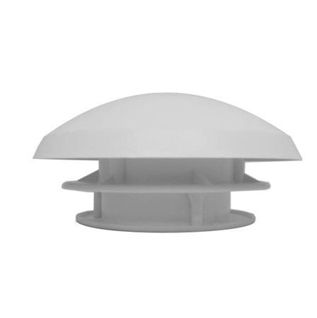 Fixed Ventilation Mushroom Vent White