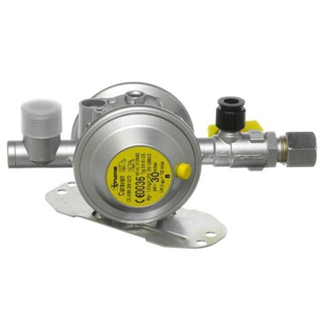 Truma Gas Regulator With Test Point 30mb