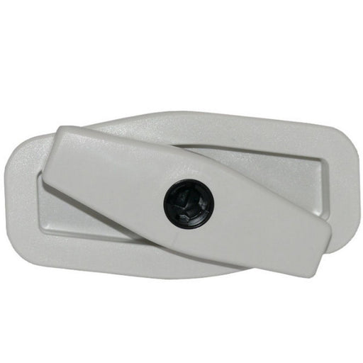 Salino Rotary Locker Push Lock White