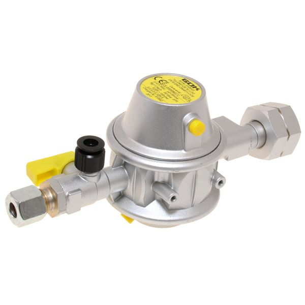 Truma tank Mounted Gas Regulator With Test Point 30mb