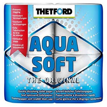 Thetford Aquasoft Toilet Roll 4 Pack