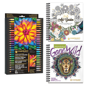 Chameleon Bundle - Pencils & Coloring Books