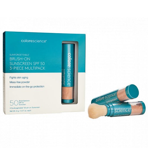 Colorescience Sunforgettable® Total Protection™ Mineral Brush-On SPF 50 Multipack