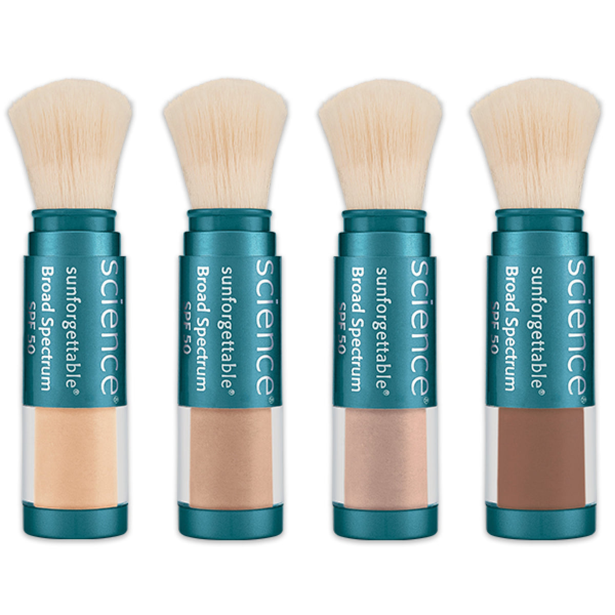 Colorescience Sunforgettable Mineral Sunscreen Brush SPF 50 ...
