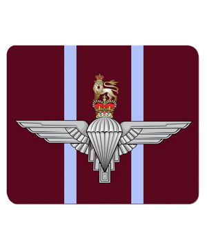 Parachute Regiment Hardboard Placemat - Bespoke Emerald Embroidery Ltd
