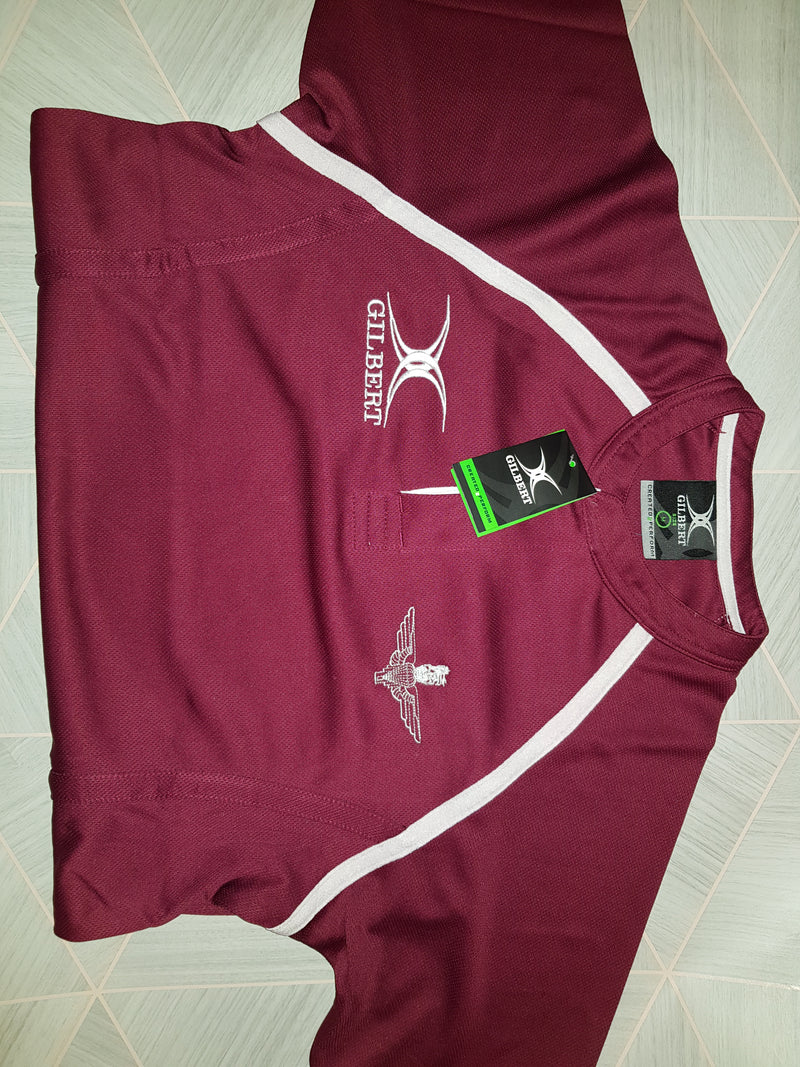 GI001 - Gilbert branded Parachute Regiment rugby match shirt