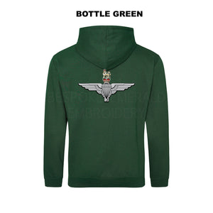 JH001-LCB- Large Cap-badge Parachute Regiment hoodie