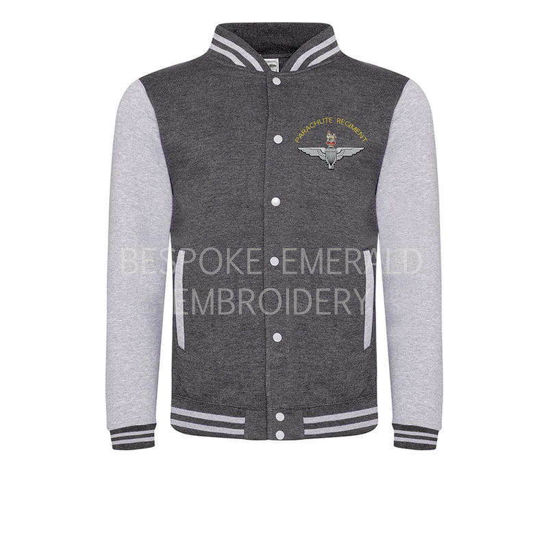 JH043 - Baseball varsity Jacket - Bespoke Emerald Embroidery Ltd