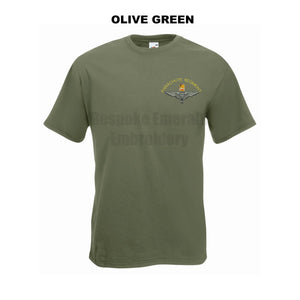 GD02 - Parachute Regiment Premium Quality Embroidered T-Shirt