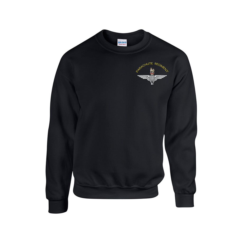GD56 - Premium Parachute Regiment drop shoulder sweatshirt - Bespoke Emerald Embroidery Ltd
