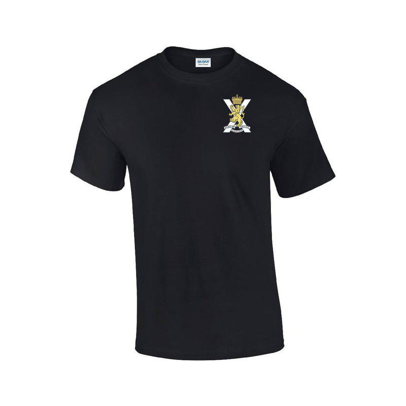 GD02 - Royal Regiment Of Scotland Premium Quality Embroidered T-Shirt