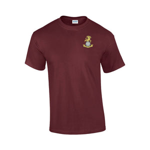 GD02 - Yorkshire Regiment Premium Quality Embroidered T-Shirt - Bespoke Emerald Embroidery Ltd