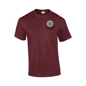 GD02 - Scots Guards Premium Quality Embroidered T-Shirt - Bespoke Emerald Embroidery Ltd
