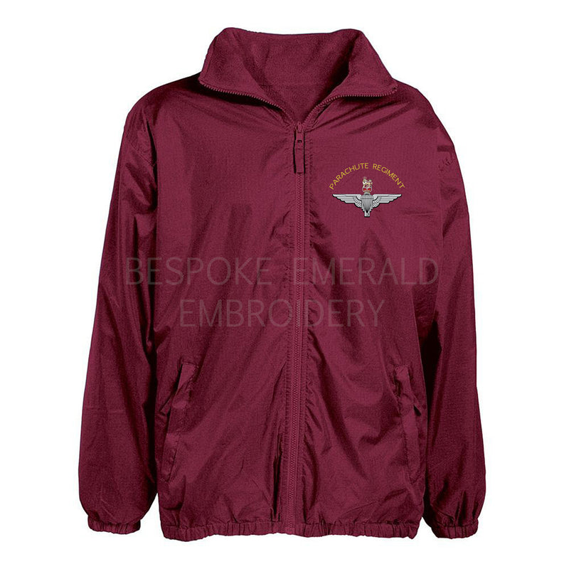 Parachute Regiment Showerproof jacket - Bespoke Emerald Embroidery Ltd