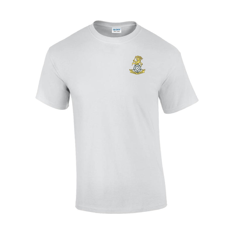 GD02 - Yorkshire Regiment Premium Quality Embroidered T-Shirt