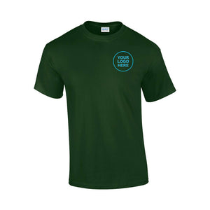 Bespoke Short Sleeve Workwear T-Shirt - Bespoke Emerald Embroidery Ltd