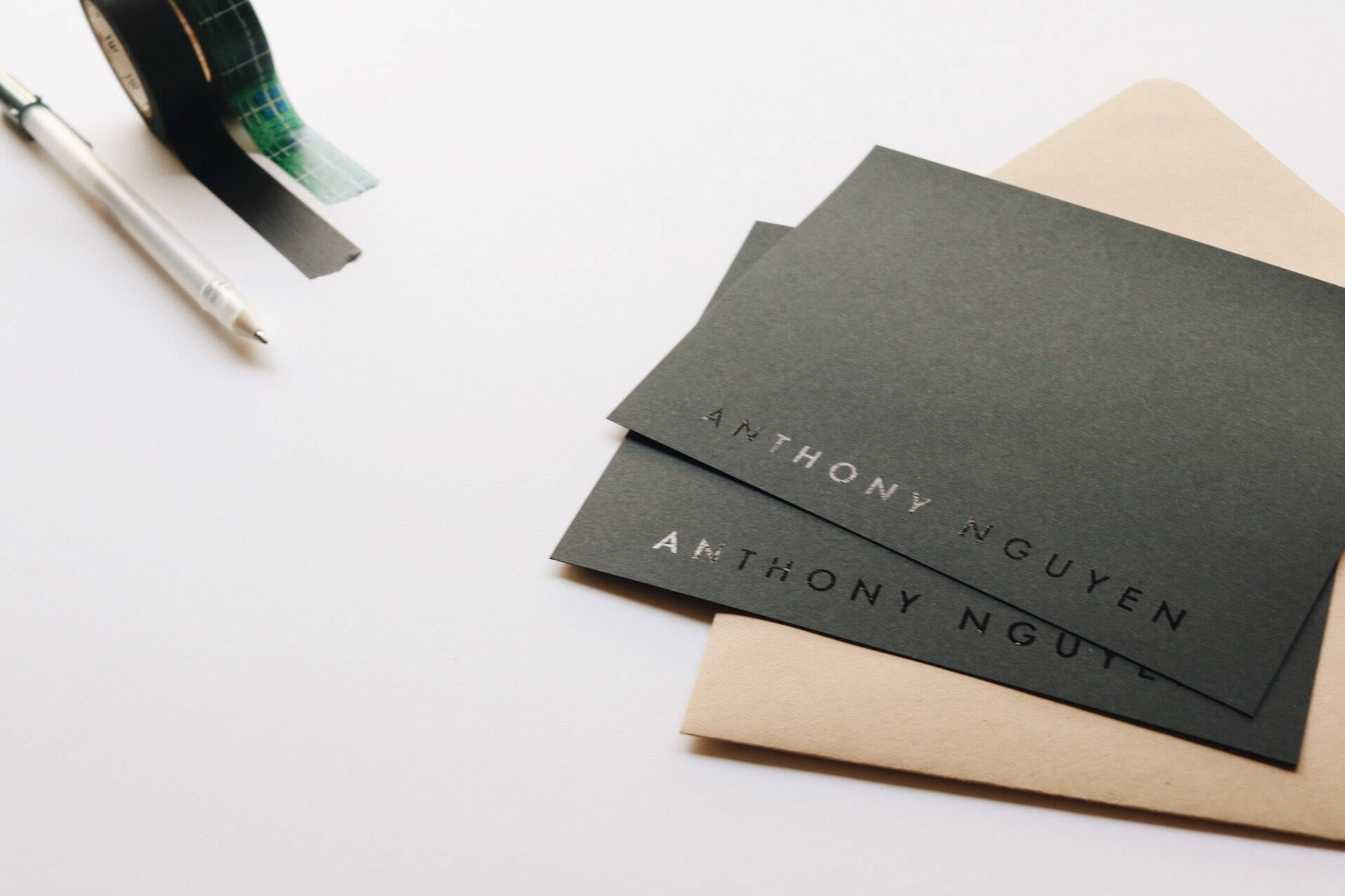 Personalized Stationery Set | Your name in foil