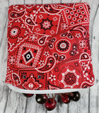 Red Bandanna Reusable Food Bag - Kool Catz Stuff