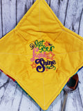 I Meow You with Yellow Microwave Hot Pad/Bowl Cozie