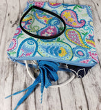 Pastel Paisley Reusable Food Bag