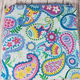 Pastel Paisley Reusable Food Bag - Kool Catz Stuff