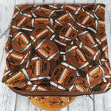 Football Reusable Food Bag - Kool Catz Stuff