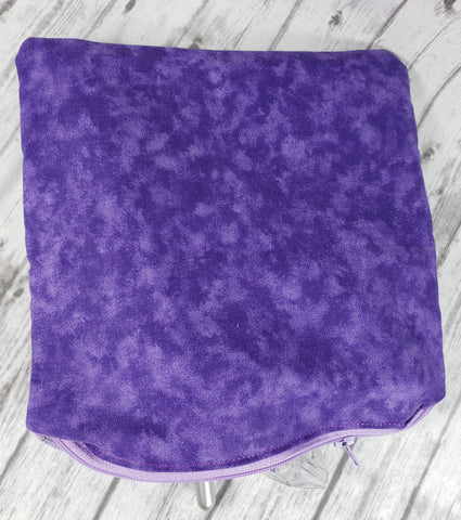 Purple Tie Dye Reusable Food Bag