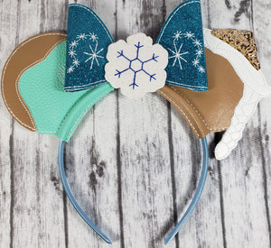 Frozen Mouse Ears/Headband - Kool Catz Stuff